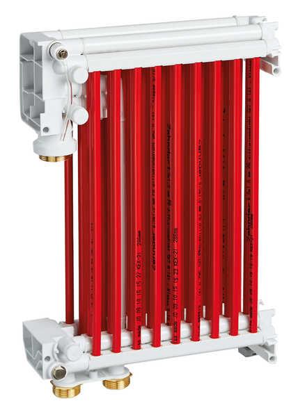 Alle korrosionsfreien Teile sind rot hervorgehoben